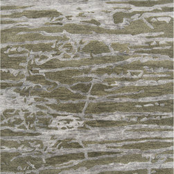 Showroom Products - Yarus Banchee Olive Ash Gray - offered in stock and custom sizes.  100% New Zealand wool.  Purchase at Hemphill's Rugs & Carpets Orange County.