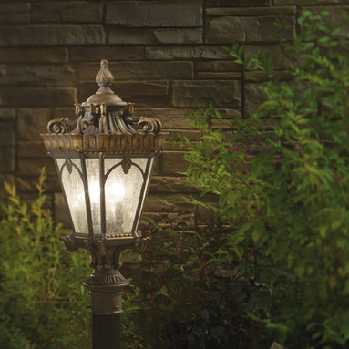 Outdoor Decrative Lighting - The Tournai Collection from Kichler