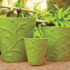 Contemporary Outdoor Pots And Planters by biggrassbamboo.com