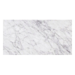Bianco Carrara Marble, 6x12, Honed, 1 Square Foot - Sold per Square Foot