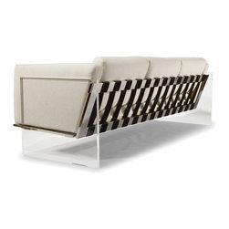 Get Smart Sofa by Milo Baughman (back view) from Thayer Coggin - Thayer Coggin Inc.