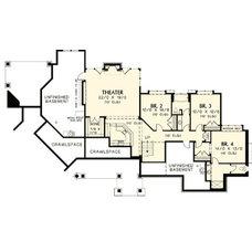 Plan W6969AM: Mountain, Craftsman, Premium Collection, Sloping Lot, Northwest, P