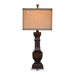 Bassett Mirror Company - Bassett Mirror L2549T Walden Table Lamp in Ant Burnished Finish - Walden Table Lamp in Ant Burnished Finish belongs to Old World Collection by Bassett Mirror Company Bassett Mirror is fluent in this art, showing a terrific contemporary furniture that will satisfy on the one hand fans of home coziness, and on the other hand - seekers of non-standard design solutions also. One of the many strengths of the Bassett Mirror is using high quality materials for perfect embodiment of brilliant design ideas. Lamp (1)