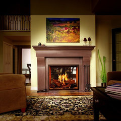 traditional fireplaces by Home and Hearth Outfitters