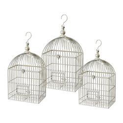 Sterling Industries - Sterling Industries Vintage Decorative Bird Cage (125-045) - Sterling Industries Vintage Decorative Bird Cage (125-045)