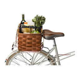Farmer's Market Rack Basket - Riding to the market? This basket clips onto your bike rack, making it perfect for hauling and riding around town.