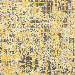 Karastan - Karastan Panache 9823-70029 (Pixelated Creme Brulee) 8' x 10' Rug - Zippy chevrons, modern ikats, honeycomb patterns, and distressed crackled designs adorn this very current and fashion forward collection. Color Palettes of greens, bright berry, yellows and grays are a great addition to Karastan and sure to grab the attention of the most discerning designers.