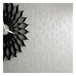 Graham & Brown - Checker Wallpaper - Taking its inspiration from mordern architecture and a mix of contrasting textures and surfaces. Checker features multi-layering textures and shadow for an exaggerated 3D geometric effect. This product is non-woven paste-the-wall making it easier to hang and remove.