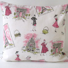 Traditional Decorative Pillows by Etsy