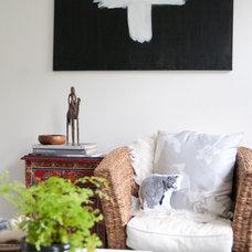 Eclectic Living Room Home in Copenhagen, Denmark