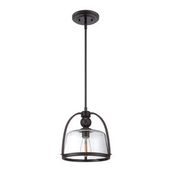 Quoizel - Quoizel Western Bronze Mini Pendants - SKU: QPP1401WT - Quoizel piccolo pendants come in a variety of styles, finishes and materials to suit any home decor. Choose from fabric, metal or even one of our Quoizel Naturals shades, with bamboo, onyx or agate stone, to name a few. Look to our piccolo pendants to add the finishing touch to your home`s style.