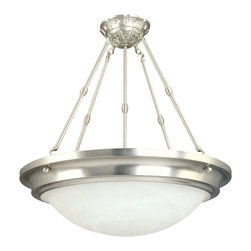 Yosemite Home Decor - 5 Lights Pendant Lighting in Satin Nickel Finish - Features: