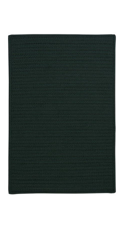 Colonial Mills - Colonial Mills Simply Home Solid H109 Dark Green Rug H109R144X180S 12x15 - Practical. Colorful. Versatile. Maintenance-free. Simply pick from 37 colors to find the perfect solid-color indoor/outdoor rug for your space.