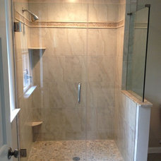 Modern Shower Doors by John A Tallarida Glass & Mirror