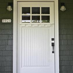 SE Portland - Mt. Tabor - Craftsman entry door by Bridgetown Window & Door
