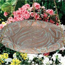 Bird Baths Butterfly Hanging Bird Bath