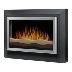 Dimplex RWF-DG Sahara Wall Mount Electric Fireplace - Dark Gray - Dimplex RWF-DG Sahara Wall Mount Electric Fireplace - Dark GrayProduct Features In just minutes, you can create a new focal point in your favorite room with Sahara's contemporary style and life-like flame. The clean design, accented with tri-colored sand and dark gray finish, complements any d?cor.Features: Year-round comfort Enjoy the ambiance of the flame with or without the heater for year-round comfort and enjoyment. Thermostat control Includes a thermostat controlled fan-forced heater to ensure consistent comfort throughout your home. Supplemental heat Includes a powerful fan-forced heater designed to heat a room up to 400 square feet, providing supplemental heat when required. Safe With no flame heat or emission and a glass front that remains cool to the touch; our fireplaces are the safe choice for your home. Green Dimplex fireplaces are 100% efficient, producing no harmful particulates or emissions and 90% less carbon dioxide than an average direct vent gas fireplace. Pennies a day Economical to operate: 2 cents per hour (flame only) or 8 cents per hour with heat (cycling at 50%) Tri-colored sand flame bed Features a tri-colored sand flame bed creating a serene environment. * UPC Number: 781052057326