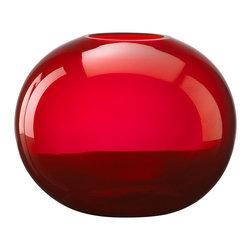 Cyan Design - Cyan Design Lighting 01043 Large Red Pod Vase - Cyan Design 01043 Large Red Pod Vase
