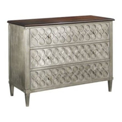 9772-70-Murano Three Drawer Chest -