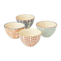 MIDWEST CBK - Hand Painted Bowl (4 asstd) - Hand Painted Bowl (4 asstd). Shop home furnishings, decor, and accessories from Posh Urban Furnishings. Beautiful, stylish furniture and decor that will brighten your home instantly. Shop modern, traditional, vintage, and world designs.