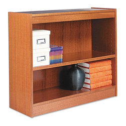 Alera - Alera BCS23036MO Square Corner Wood Veneer Bookcase - Medium Oak Multicolor - AL - Shop for Bookcases from Hayneedle.com! About AleraWith the goal of meeting the needs of all offices -- big or small casual or serious -- Alera offers an excellent line of furnishings that you'll love to see Monday through Friday. Alera is committed to quality innovative design precision styling and premium ergonomics ensuring consistent satisfaction.