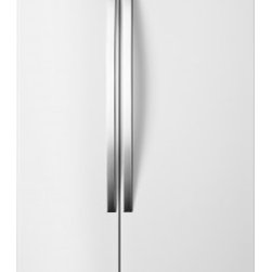 Whirlpool - WRS325FNAH 25 cu. ft. Energy Star Qualified Side-by-Side Refrigerator with Inter - Take home a refrigerator that makes finding and keeping your favorite fresh and frozen foods easy LED lighting will make sure finding your items inside your 22 cu ft Whirlpool side-by-side refrigerator is simple while the Accu-Chill temperature manag...