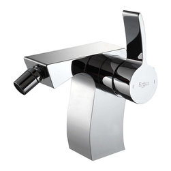 Kraus - Kraus Sonus Single Lever Bidet Faucet Chrome - *It takes vision and creativity to design a masterpiece