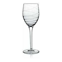Luigi Bormioli - Luigi Bormioli Romantica Wine 9.5oz set of 4 - These high quality, classically designed glasses are perfect for any occasion, whether you are hosting an elegant dinner, a casual get-together, or simply relaxing at home. Eden glassware is machine blown in parma Italy and made in luigi bormiolis proprietary sparkx formula. A glass produced in sparkx is ultra clear and break-resistant. Lead-free and dishwasher safe.