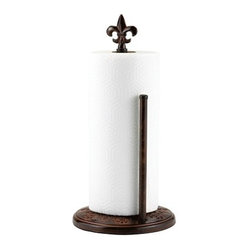 "15"" H. ""Versailles"" Paper Towel Holder"