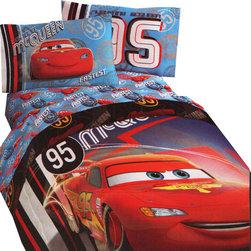 Store51 LLC - Lighting McQueen Twin Bedding Disney Race Car 95 Bed Set - FEATURES:
