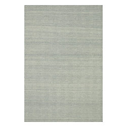 """Loloi Rugs - Loloi Rugs Harper Collection - LT. Blue, 5'-0"""" x 7'-6"""" - Sometimes you want a rug to play a supporting role in the design of a room rather than take center stage. Enter, the Harper Collection. Hand-loomed of 100% wool in India, Harper's simple patterns and subdued colors serve to balance a space that's busy with other elaborate design elements. And although Harper is understated, it's still full of character. Each rug is artfully crafted by hand, ensuring an authentic, detailed finish to these beautiful flat-weaves."""