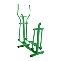 Stamina Outdoor Fitness Strider - Have a low-impact, high-quality cardio workout with a breath of fresh air on the Stamina Outdoor Fitness Rider. Made of heavy-gauge steel and finished with chip-and corrosion-resistant UV-protected bright green paint, it'll stand up to you and Mother Nature can dish out. Dual-action handlebars let you put your arms in motion for a full-body workout or grip the stationary bars for lower-body and cardio only. This workout station is easy to assemble and install and requires little to no maintenance.About Stamina Products, Inc.Founded in 1987, Stamina is dedicated to building a stronger, healthier you. The company supplies high-quality products at excellent value to the fitness and leisure markets, showcasing hundreds of products around the world over the past two decades. Stamina is responsible for such brands as Body by Jake, Suzanne Somers, Tony Little, and more. Their mission is straightforward and admirable: Stamina strives to outperform the competition by maintaining effective communication, consistent quality, and superior service. They will continue to pursue perfection through the design excellence of these home fitness products.