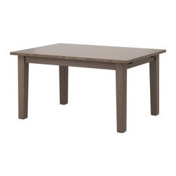 Carina Bengs - STORNÄS Dining table - Dining table, gray-brown