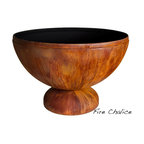 """Ohio Flame - Fire Chalice Fire Bowl, 41 Inch Diameter - Dimensions: 30"""" in Diameter x 20""""H, 75 lbs; .156"""" thickness"""