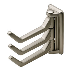 Hafele - Hafele 843.64.600 Matte Nickel Decorative Hooks - Hafele item number 843.64.600 is a beautifully finished Matte Nickel Decorative Hook.