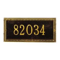 Address Plaques - Laurel Ribbon Personalized Plaque
