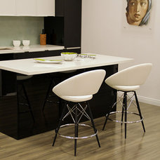 contemporary bar stools and counter stools by Briers Home Furnishings