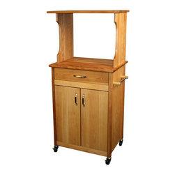 Catskill Craftsmen - Catskill Craftsmen Microwave Cart - Catskill Craftsmen - Microwave Carts - 51526