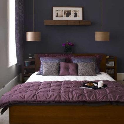 eclectic bedroom blue bedroom