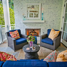 Eclectic Porch by Structure Home