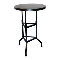 YOSEMITE HOME DECOR - Barstool with 3 Legs and Metal - This stool's triangular iron base and gunmetal finished solid metal top were inspired by an industrial seat from the 1920s that became a factory fixture decades later. The counter height fixed 29 inch high seat is perfect for everyone. Crafted by skilled artisans in Inda, ships assembled. Factory recommends a maximum weight capacity of 300 lbs.