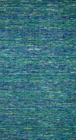 """Loloi Rugs - Loloi Rugs Stella Collection - Peacock, 9'-3"""" x 13' - Dress up your floor with the fashionable Stella Collection from India. Stella� cleverly integrates refurbished sari silk dresses with looped wool for an overall look that's striking as a model on the runway. And with several gorgeous color choices to choose from, it's easy to find the piece that matches your style.�"""