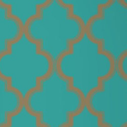Tempaper - Honey Jade MA034 Marrakesh Self-Adhesive Wallpaper - Honey Jade MA034 Marrakesh Self-Adhesive Wallpaper is self-adhesive and has 12 inches of pattern repeat. This self-adhesive wallpaper is revolutionary in the home decor industry. It can be easily removed, repositioned or readjusted to match your style. It is the perfect wallpaper for renters, or people who just like to change their home decor often! Liven up any room as frequently as you like with self-adhesive removable wallpaper. Collection name: Tempaper Size of each double roll is 20.5 inches x 33 feet. Each double roll covers about 56.37 square feet / 5.24 square meters. Wallpapers are priced per single roll, but packaged and sold in double rolls only. Please order the number of single rolls that you will need, but you must order in multiples of two (even numbers) only.