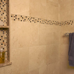 contemporary bathroom tile by Global Granite &amp; Marble
