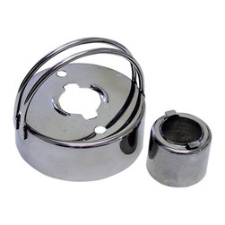 "RM - Donut Cutter 2.75 In. B1712X - Donut cutter with handle. Size: 2.75"" diameter with a 1.25"" hole. The hole part removes for easy cleaning and doubles as a biscuit cutter. Two vent holes are on the top to reduce sticking. Heavy duty 100% stainless steel. Dishwasher safe."