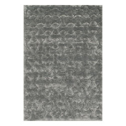"""Loloi Rugs - Loloi Rugs Dream Shag Collection - Silver, 9'-2"""" x 12'-2"""" - Quite possibly one of the thickest shags available, Dream Shag is designed to add supreme comfort to the look and feel of any home. The pile consists of thick twisted polypropylene yarns that measure 1.5 inches in length and are densely packed. The result is a shag that's plush, thick, and comfortable. And since it's made in Egypt using power looms, any Dream Shag you order is made with precise design and pile height accuracy."""