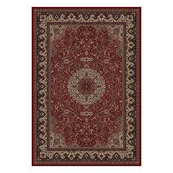 Concord Global - Persian Classics 2' x 3' Rectangle Traditional - Persian Classics 2030-Red  2' x 3'.3