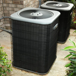 "Main Keyword: Boulder Heating Contractor - By definition, a heat pump is a machine which moves heat. Heat exists in all air at all temperatures down to ""absolute zero"" (-460 F). In the winter, a heat pump draws heat from the outdoor air and circulates it through ducts into your home. During the summer, it reverses the process and draws heat from your interior air and releases it outdoors. It also dehumidifies the indoor air as it cools it."
