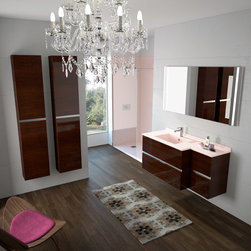 CITY BY AMBIANCE BAIN - AMBIANCE BAIN modular units comprise numerous ranges of stylish ready-made designs. They are available in set sizes with set specifications. Simply follow the steps below and you will soon be on your way to your new bathroom. CHOOSE A MODULE CHOOSE A COLOUR ADD ACCESSSORIES