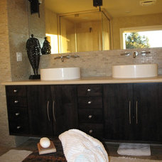 Traditional Bathroom by May Construction, Inc.